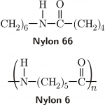 Nylon 6 - 66 Chemical Structure