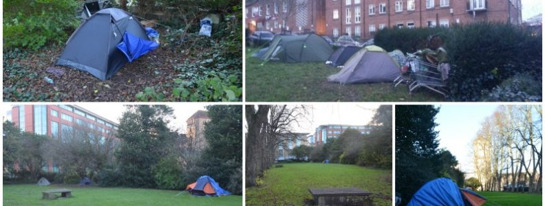 Bristolu0027s homeless c&ers could have their tents confiscated and face court action & Bristolu0027s homeless campers could have their tents confiscated and ...