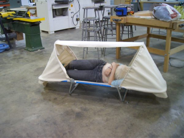 Portable Homeless Shelters Design : Project room bivouac