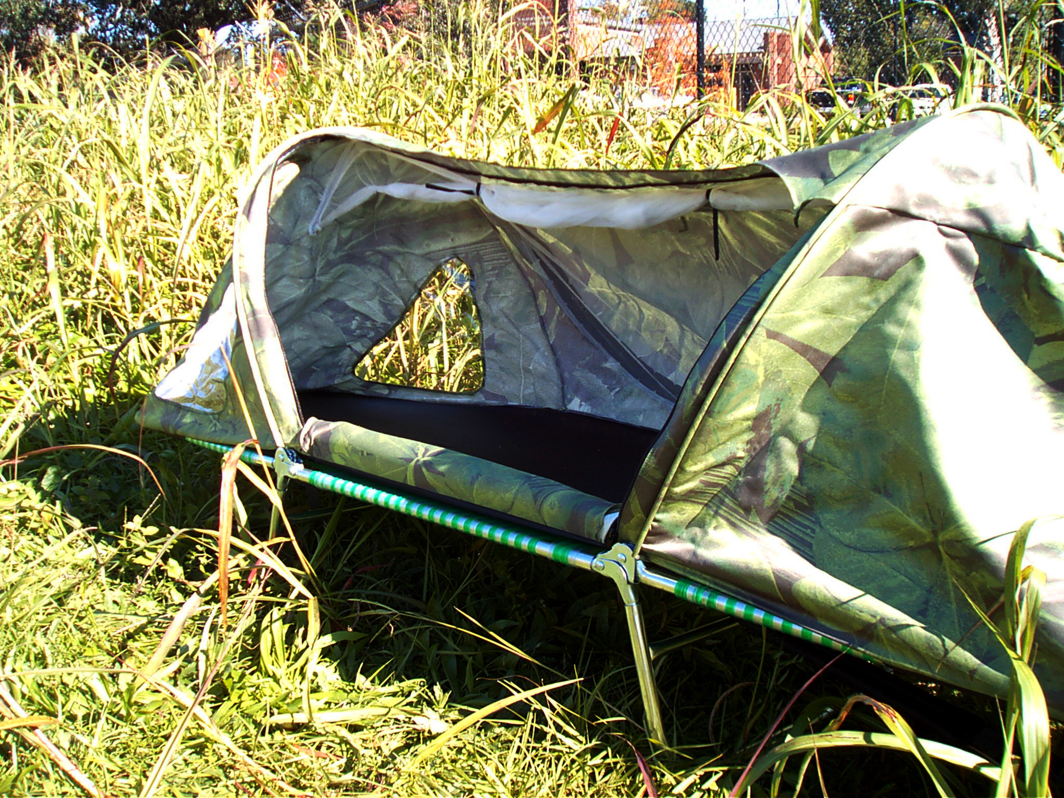 Portable Shelter for the Homeless by Charles Heydinger